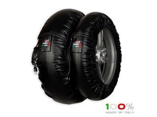 CAPIT Suprema Spina Tirewarmers Black Size M/XXL