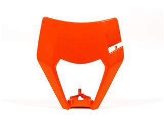 Plastique de plaque phare RACETECH orange KTM EXC - 7805092
