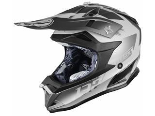 JUST1 J32 Pro Helmet Kick Titanium Gloss Size L - 4256e7ed-1fbc-4823-925f-74443310609c