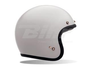 CASCO BELL CUSTOM 500 DLX BLANCO 62-63 / TALLA XXL (Incluye bolsa de piel) - 7050089
