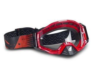 UFO Epsilon Goggle Red/Black Clear Lens - 426097c7-9828-496d-8546-11a6d5a10307