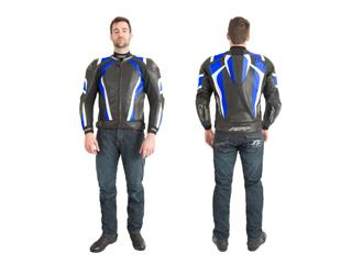 RST Pro Series CPX-C Jacket Leather Blue Size L