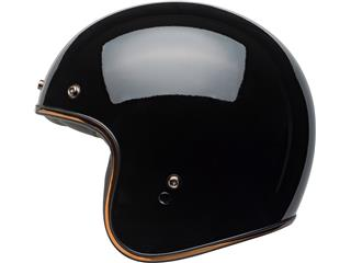 Casque BELL Custom 500 DLX Rally Gloss Black/Bronze taille XL - 42913bf9-040c-464f-9e12-7f1a63111fde