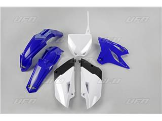UFO Plastic Kit OEM Color Blue/White Yamaha YZ85