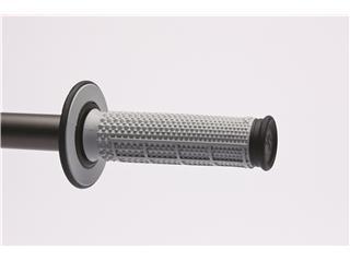 RENTHAL MX Taper Griffgummis Rauten-/Halbwaffel-Design grau/schwarz - 42d98559-87b0-4863-a1e5-74ec5baa155c
