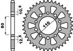 Couronne PBR 45 dents acier standard pas 530 type 334 - 47000410