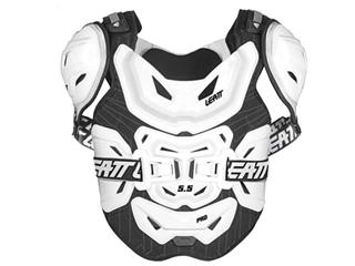 LEATT 5.5 Pro Chest ProtectorHard Shell White Size Adult