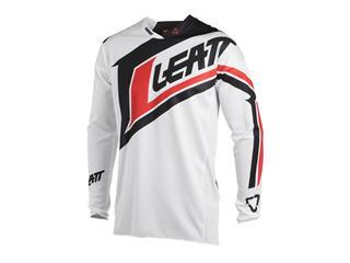 Maillot LEATT GPX 4.5 Lite blanc/noir taille XXL - 4340882XL