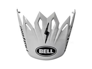 Visera casco Bell Moto-9 MIPS Fasthouse Blanco/Negro