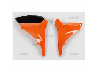 Caches boîte à air UFO orange KTM SX-F250/350/450/505 - 78527653