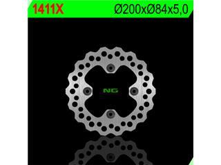 NG 1411X Brake Disc Petal Fix