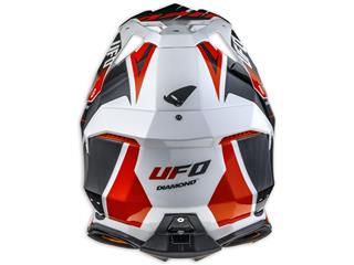 UFO Diamond Helmet Black/White/Red Size S - 447c6829-2cac-45bb-ad54-af089739bd61