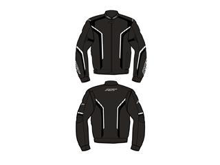 Blouson RST Axis CE textile noir/blanc taille 3XL homme