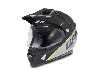UFO Aries Helm Matt Black/Grey Größe L