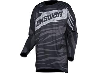 Camiseta Answer ELITE OPS Negro/Antracita, Talla XS - 802000240167