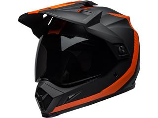 BELL MX-9 Adventure Mips Helmet Switchback Matte Black/Orange Size XS