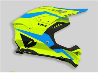 UFO Diamond Helmet Neon Yellow/Blue Size S - 45301438-40df-4d77-b888-cf74cd72e3bf
