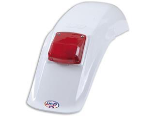 Garde-boue arrière + feu UFO Enduro blanc - 78010210