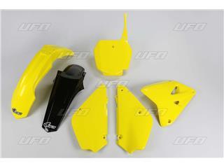 UFO Restyled Plastic Kit OEM Color (2016) Yellow/Black Suzuki RM85 - 78343699