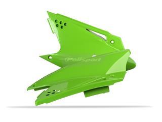Plaques latérales POLISPORT vert Kawasaki KX250F - PS517GR05