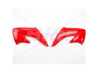 Plásticos laterales de radiador UFO Honda rojo HO03689-070