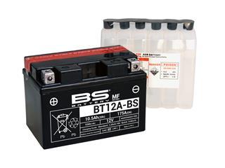 BS BATTERY Batterien BT12A-BS wartungsfrei mit säurepack geliefert