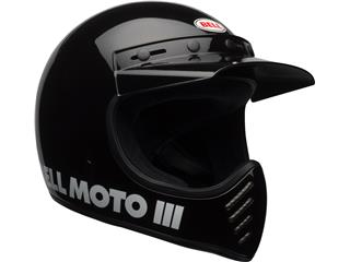 Casque BELL Moto-3 Classic Black taille L - 467a336d-6be5-4e6a-8d17-111a37a6166b