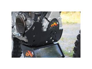 AXP GP HDPE Skid Plate Black/Red Sticker Yamaha YZ450F