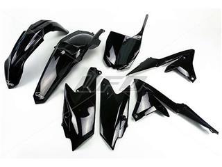 UFO Plastic Kit Black Yamaha YZ250F/450F - 78006720