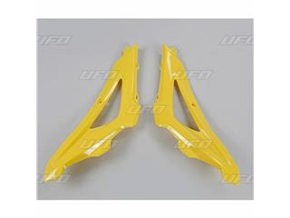Ouïes supérieures de radiateur UFO jaune Husqvarna - 78633062
