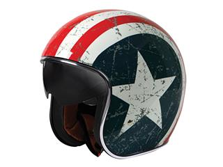 ORIGINE Sprint Helmet Rebel Star Blue/White/Red Size XL
