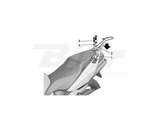 Fijaciones Top SHAD Honda VFR800 VTE02