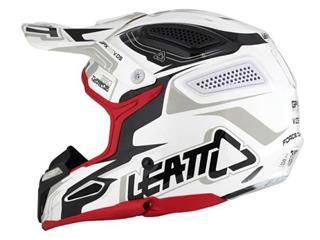 LEATT GPX 5.5 Helmet Composite White/Black/Red Size M  - 48f8ea27-33ca-4c1c-8b7f-a6b1a21dcab1