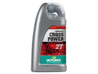 Huile moteur MOTOREX Cross Power 2T 100% synthétique 1L - 551004