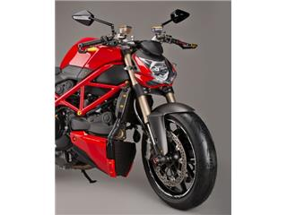 Carter de radiateur LIGHTECH carbone mat Ducati Streetfighter 848