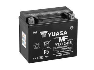 Batterie YUASA YTX12-BS sans entretien livrée avec pack acide - 32YTX12BS