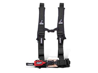 DRAGONFIRE Harness Black 4 points 2""