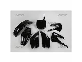 Kit plastique UFO noir Kawasaki KX85 - 78243820