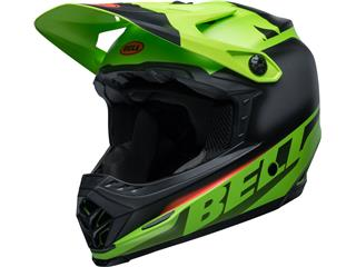 BELL Moto-9 Youth Mips Helmet Glory Green/Black/Infrared Size YL/YXL - 801000520170