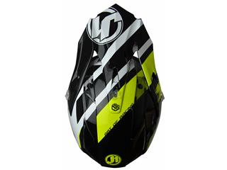 JUST1 J32 Pro Helmet Kick White/Yellow/Black Gloss Size S - 498dec4e-3d1b-4602-930d-c8b2c6efdaef