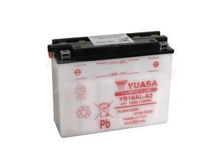 Batería Yuasa YB16AL-A2 Dry charged (sin electrolito)