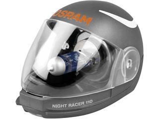 OSRAM H4 Night Racer 110 12V/60/55W Base P43t-38 Blister 2pcs + Helmet - 4a290d0c-bf76-4f81-91d1-7c461a3c0c7d