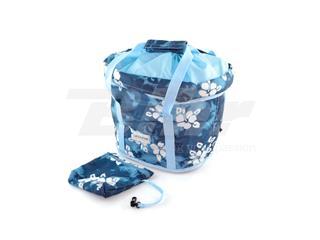 Cesto Lotus Poliéster azul - 15496