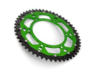 Couronne ART Bi-composants 50 dents aluminium/acier ultra-light anti-boue pas 520 type 460 vert - 4a5215b0-f038-4fed-96b6-4a03f04a08bb