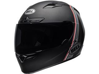 BELL Qualifier DLX Mips Helmet Illusion Matte/Gloss Black/Silver/White Size XS
