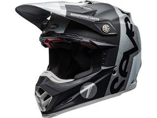 BELL Moto-9 Flex Helm Seven Galaxy Zwart/Zilver Maat M
