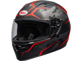 BELL Qualifier Helmet Stealth Camo Red Size XL - 800000330371