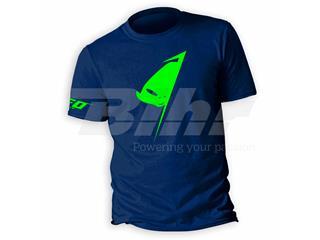 Camiseta casual UFO Alien Azul, Talla L