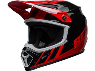 Casque BELL MX-9 Mips Dash Black/Red taille XL - 801000210171