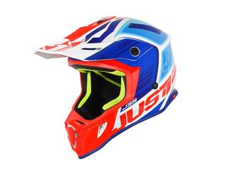 Casque JUST1 J38 Blade Blue/Red/White Gloss taille L